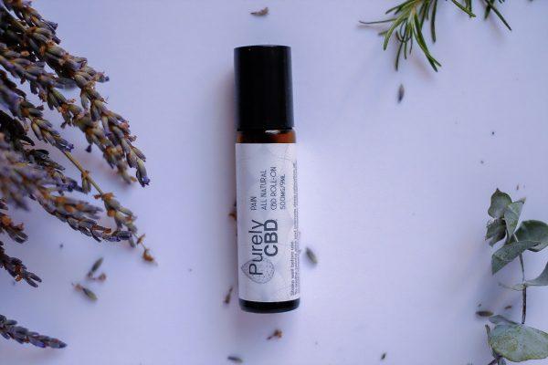 Pain - 500mg Pure Hemp Oil Roll-On by PurelyCBD