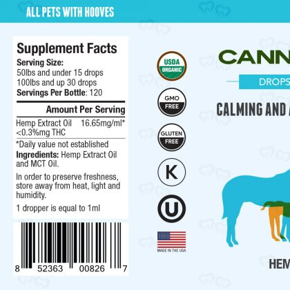 Canna Hooves CBD Tincture 1000mg