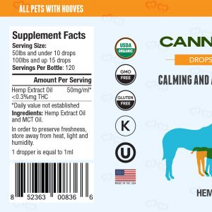 Canna Hooves CBD Tincture 3000mg