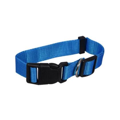 Large Blue Dog Collar